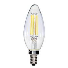 Carbon Filament LED Candelabra Torpedo Light Bulb 23-Watt Equivalent by Satco