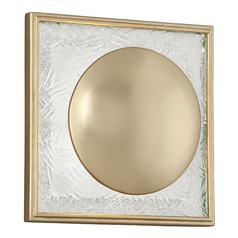 Corbett Lighting Trance Gold Leaf LED Sconce