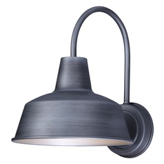 Maxim Lighting Pier M Weathered Zinc Barn Light