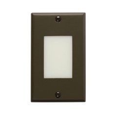 Kichler Dimmable Architectural Bronze LED Recessed Step Light