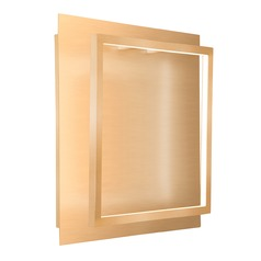 Kuzco Lighting Modern Soft Gold LED Sconce 3000K 400LM