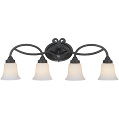 Dolan Designs Lighting Four-Light Bathroom Light 3104-34