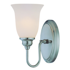 Jeremiah Linden Lane Satin Nickel Sconce