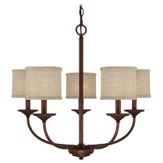 Capital Lighting Burnished Bronze Chandelier