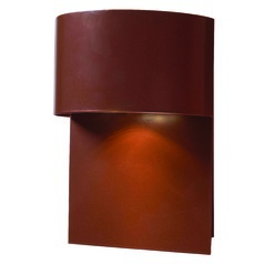 Kenroy Home Lighting Moonlit Copper Outdoor Wall Light