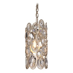 Crystorama Lighting Sterling Distressed Twilight Mini-Pendant Light