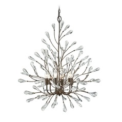 Elk Lighting Crislett Sunglow Bronze Chandelier