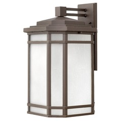 Oil Rubbed Bronze LED Outdoor Wall Light by Hinkley Lighting