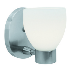 Access Lighting Frisco Brushed Steel Sconce