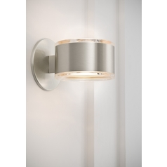 Holtkoetter Modern Sconce Wall Light in Satin Nickel Finish