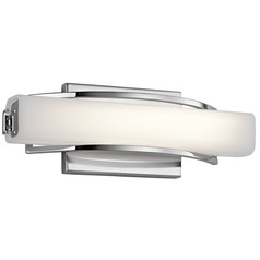 Elan Lighting Rowan Chrome LED Sconce