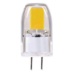 Satco LED T3 Bulb 2 Pin 360 Degree Beam Spread 3000K 12V 20-Watt Equivalent Dimmable