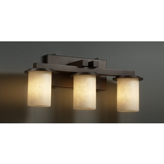 Justice Design Group Clouds Collection Bathroom Light