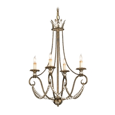 Mini-Chandelier in Barcelona Gold Finish