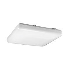 Progress Lighting Progress Flushmount Light with White in White Finish P7379-30