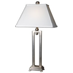 Uttermost Conrad Silver Table Lamp