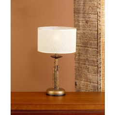 Table Lamp in Earth Finish