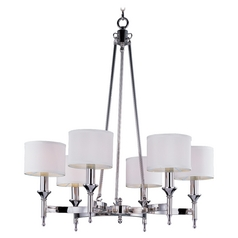 Maxim Lighting Fairmont Polished Nickel Chandelier