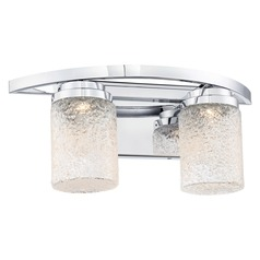 George Kovacs Brilliant Chrome LED Bathroom Light