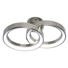 Elan Lighting Fornello Brushed Nickel LED Flushmount Light