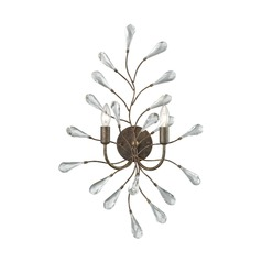 Elk Lighting Crislett Sunglow Bronze Sconce