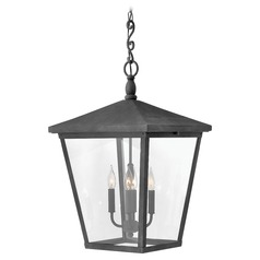 Aged Zinc LED Outdoor Hanging Light by Hinkley Lighting