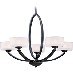 Maxim Lighting Elle Oil Rubbed Bronze Chandelier