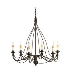 Chandelier in Blacksmith Finish