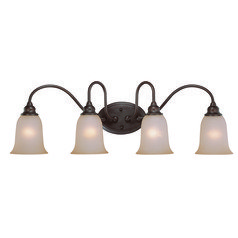 Craftmade Linden Lane Old Bronze Bathroom Light