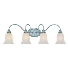 Craftmade Linden Lane Satin Nickel Bathroom Light