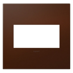 Legrand Adorne Soft Touch Russet 2-Gang Switch Plate