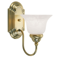Livex Lighting Belmont Antique Brass Sconce
