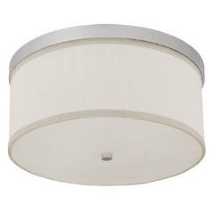 Capital Lighting Matte Nickel Flushmount Light