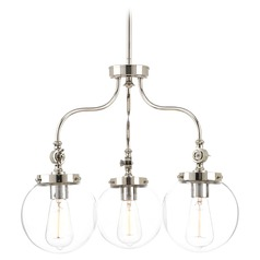 Progress Lighting Penn Polished Nickel Chandelier