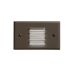 Kichler Lighting Kichler LED Recessed Step Light in Architectural Bronze Finish 12650AZ