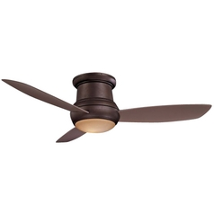 Minka Aire Fans 52-Inch Wet Rated Ceiling Fan w/ Three Blades and Light Kit F574-ORB