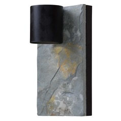 Kenroy Home Lighting Frederick Oil Rubbed Bronze with Slate Outdoor Wall Light