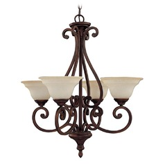 Capital Lighting Chandler Burnished Bronze Chandelier