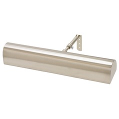 House Of Troy Classic Traditional Satin Nickel Picture Light
