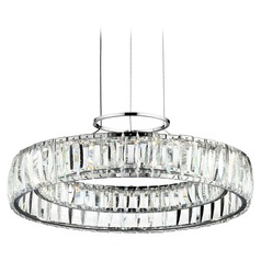 Elan Lighting Annette Chrome LED Pendant Light
