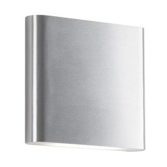 Kuzco Lighting Modern Brushed Nickel LED Sconce 3000K 851LM