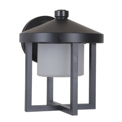 Craftmade Lighting Alta Midnight LED Outdoor Wall Light