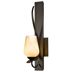 Hubbardton Forge Lighting Flora Dark Smoke Sconce
