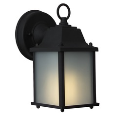Craftmade Lighting Coach Lights Matte Black Outdoor Wall Light