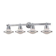 Elk Lighting Retrospectives Polished Chrome Bathroom Light