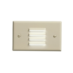 Kichler Dimmable LED Recessed Step Light in Ivory Finish