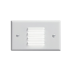 Kichler Dimmable LED Recessed Step Light in White Finish
