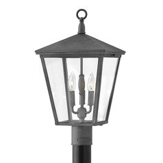 Aged Zinc LED Post Light by Hinkley Lighting