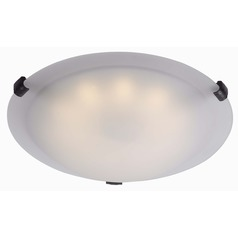Kenroy Home Lighting Aero Oil Rubbed Bronze LED Flushmount Light