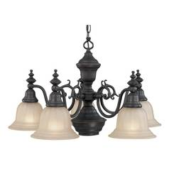 Dolan Designs Lighting Six-Light Chandelier 660-78